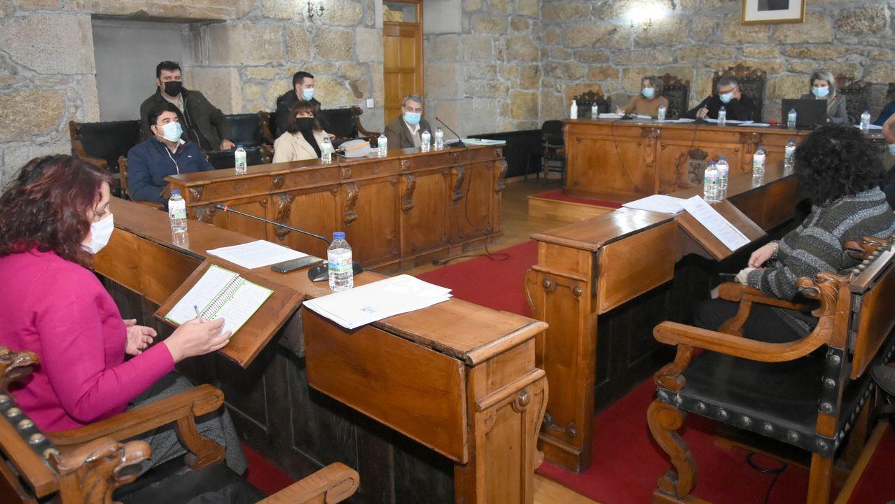 oza.Foto de archivo del Parlamento de Galicia