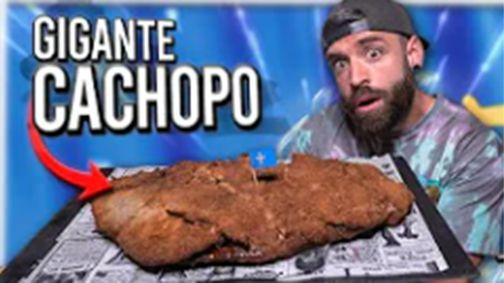 El youtuber que se come el cachopo más grande de España.Basura en el océano Pacífico