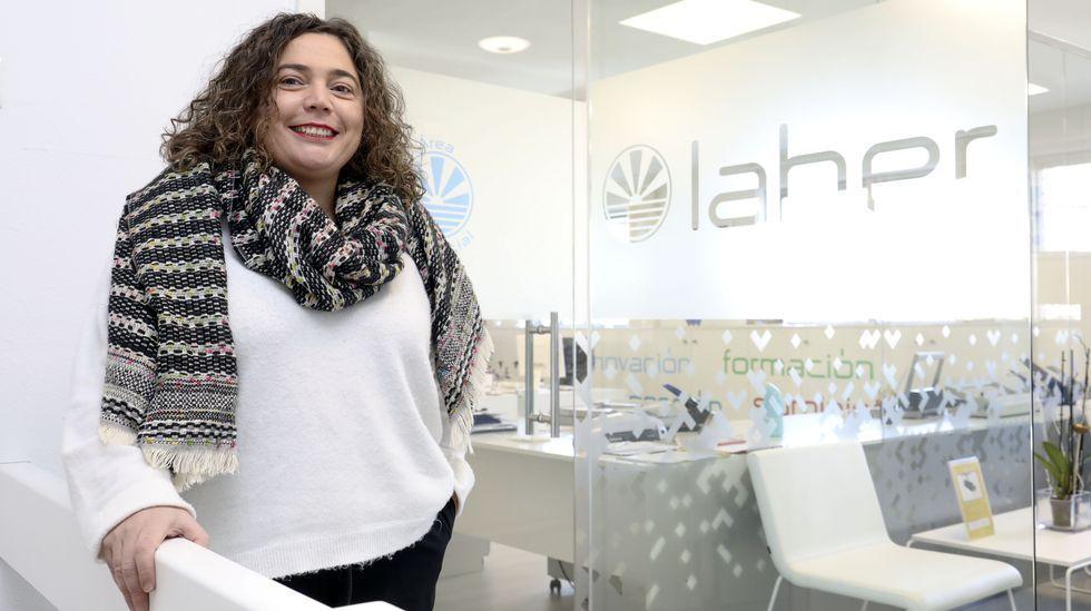 Iria Antas, responsable de recursos humanos de la empresa Laber