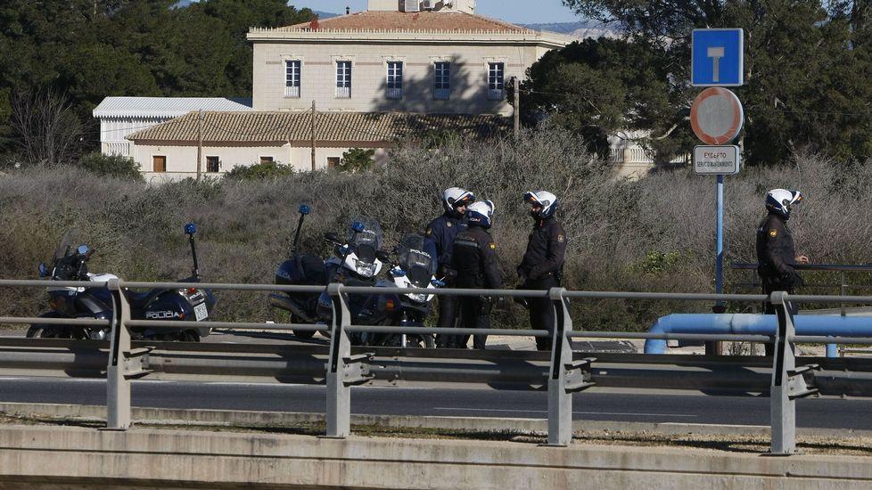Tromba de agua y granizo en Málaga.El camión usado en Niza