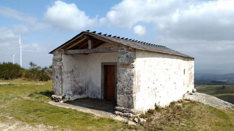 La capilla de Biville es el centro de la romería de San marco