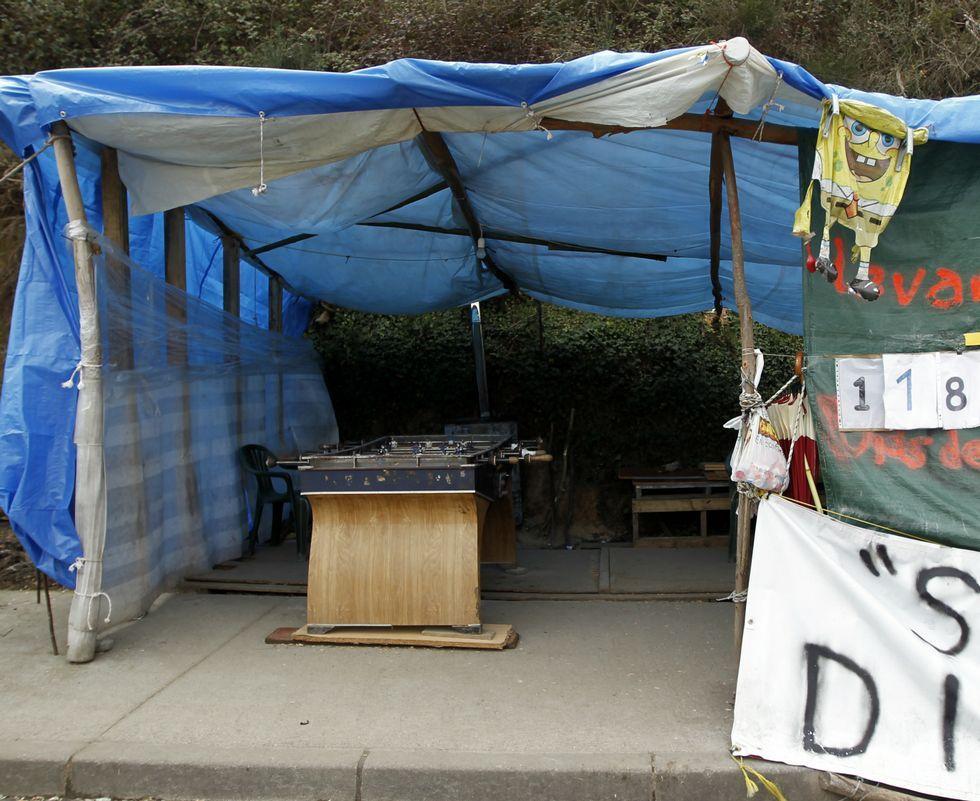 Mañana por la mañana comenzará el desmontaje del «campamento de la dignidad».