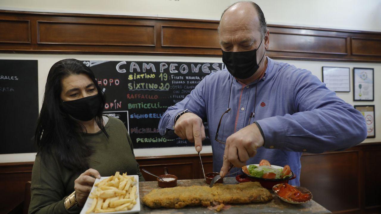 El mejor cachopo de España está en La Cantina Sixtina, en A Coruña