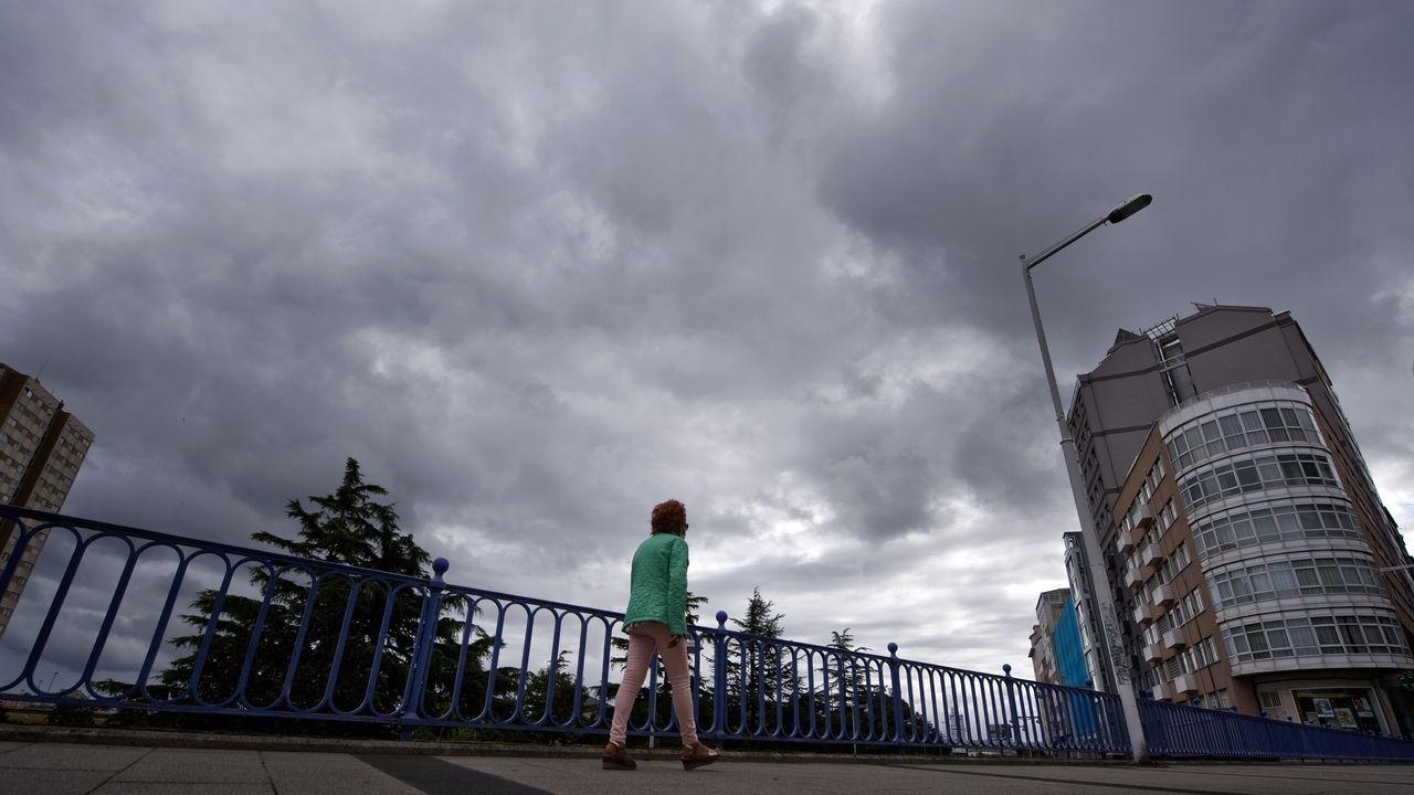 Los hosteleros gallegos recorrieron las calles de Santiago el pasado martes