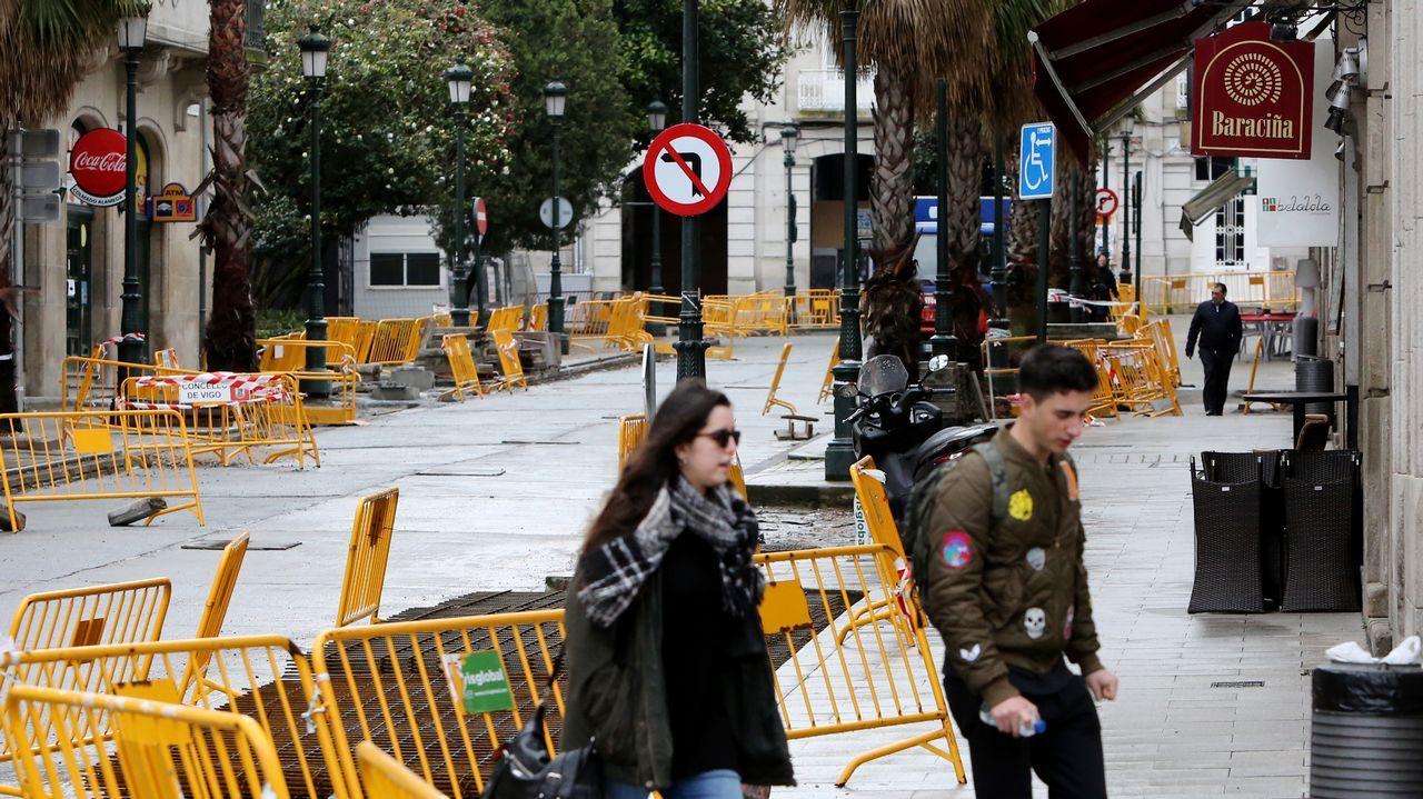 Los hermanos Bernardo y Roy D. L. siguen acudiendo cada día a los juzgados de Ourense, donde están obligados a comparecer personalmente