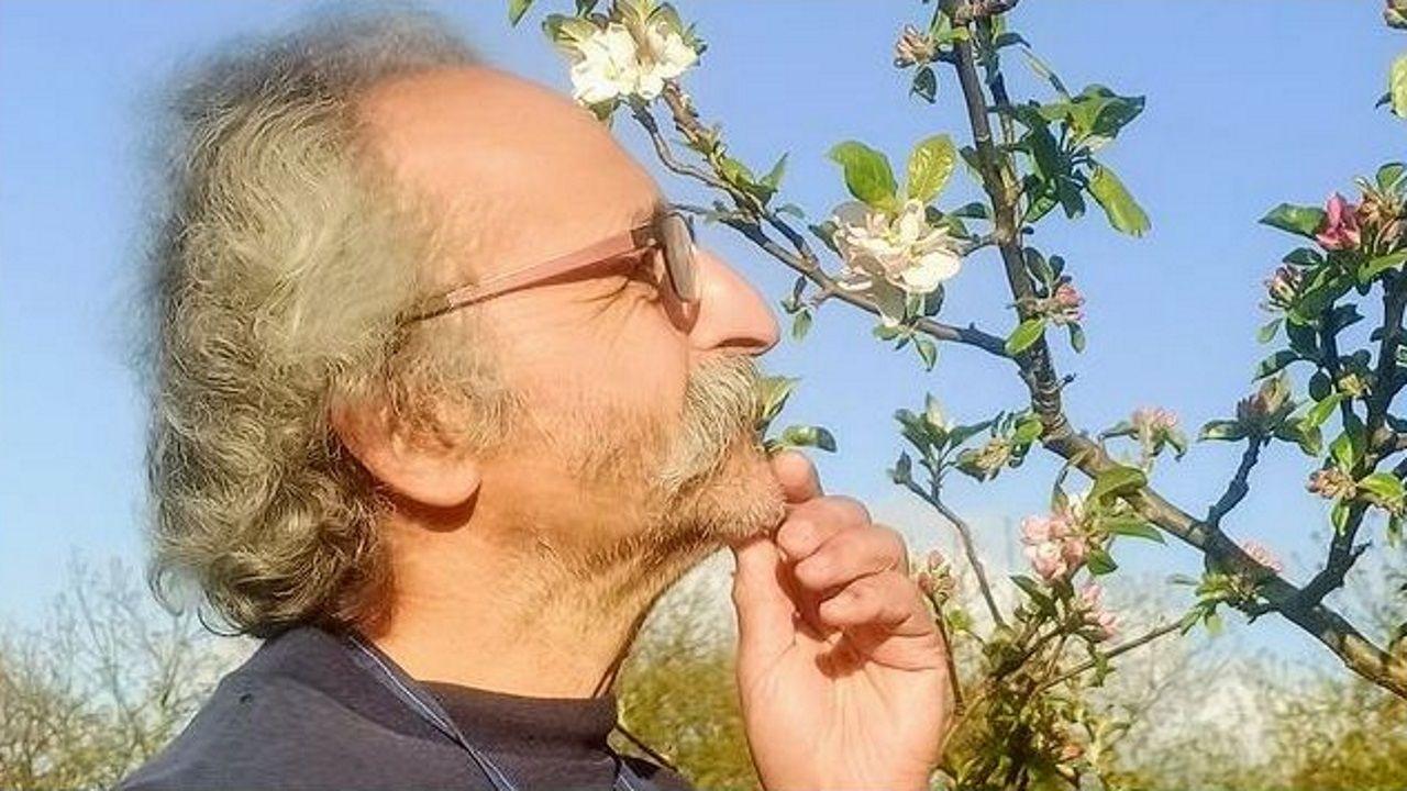 José Antonio Cadaveira, componente de la compañía Oístes? Teatro, en uno de los ensayos de «Primavera»