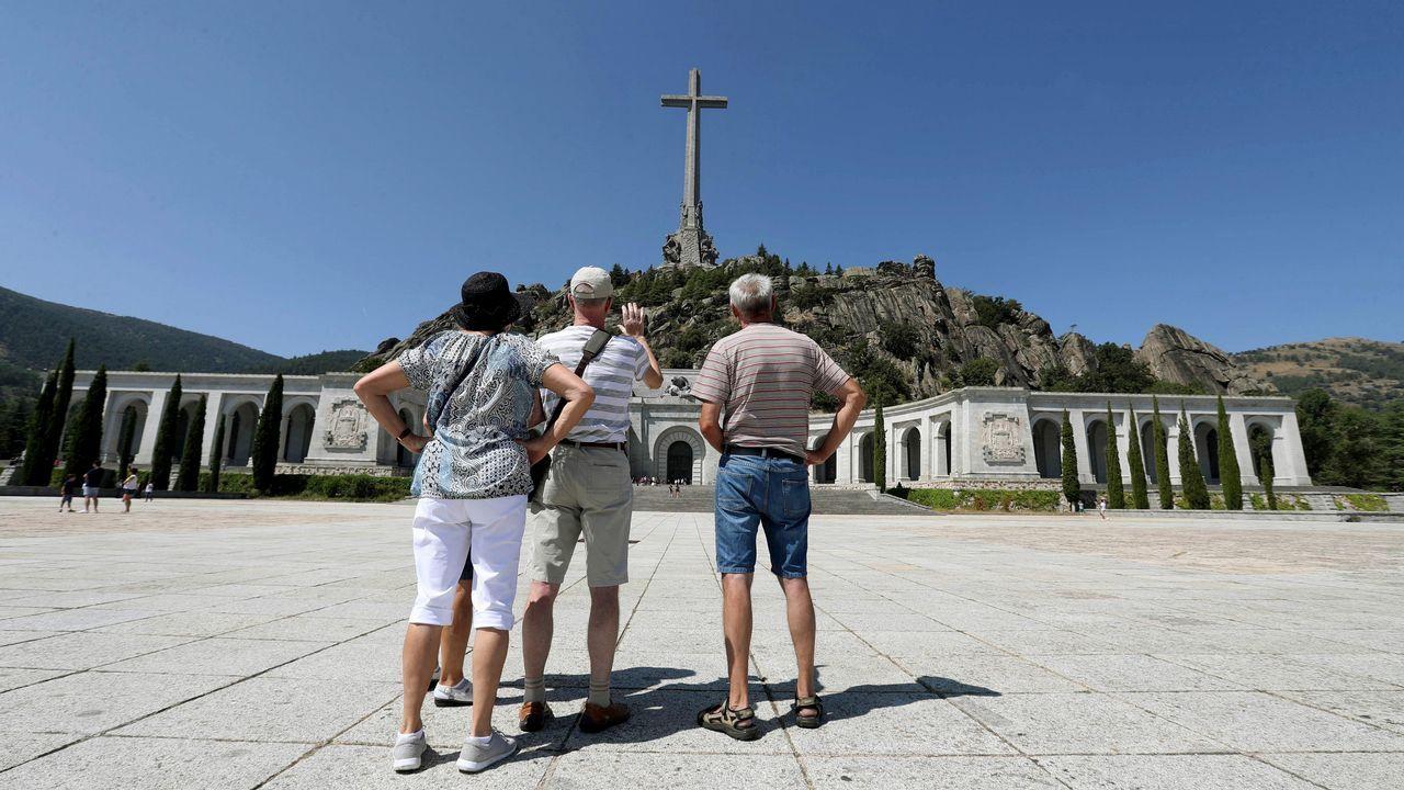 Acuerdo para sacar a Franco del Valle de los Caídos.El portavoz adjunto del grupo popular en el Congreso, Guillermo Mariscal