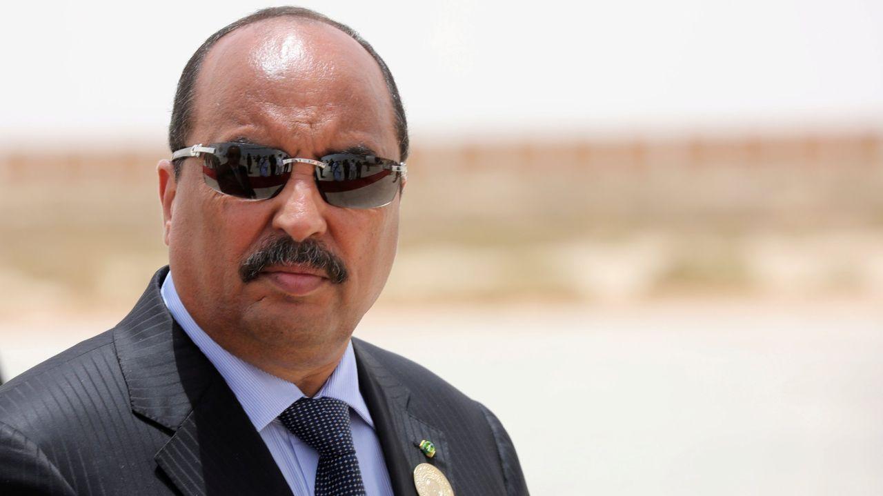 Así es la tortilla de patatas de la discordia de José Andrés.El presidente de Mauritania