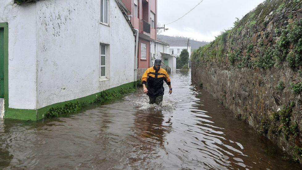 Inundaciones en Neda.