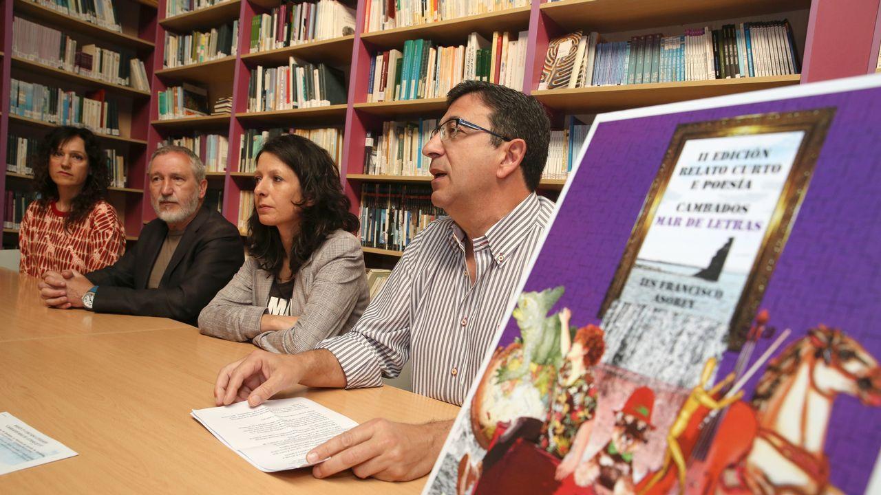 Trabajadores del GES de Valga protestan por su situación laboral
