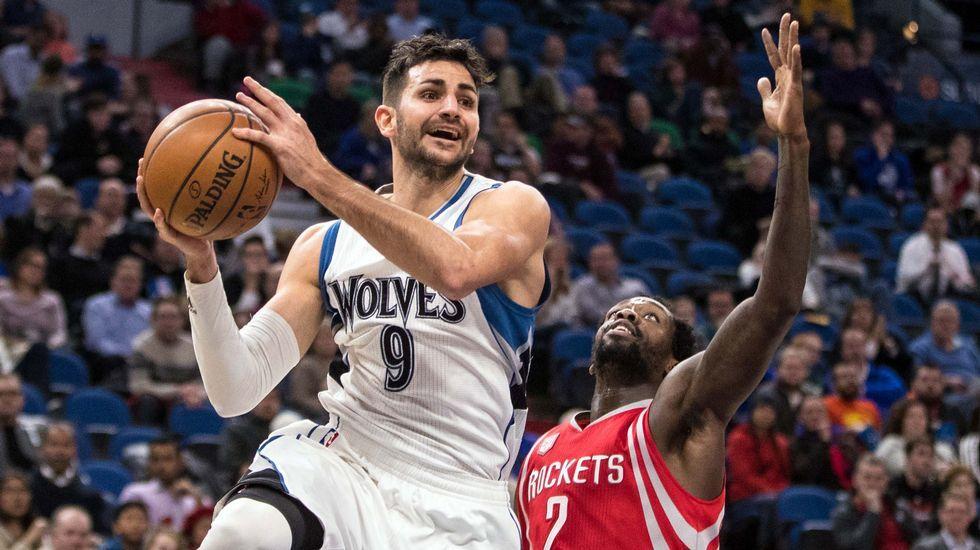 Los mejores momentos del partido entre Timberwolves y Rockets.Ricky Rubio