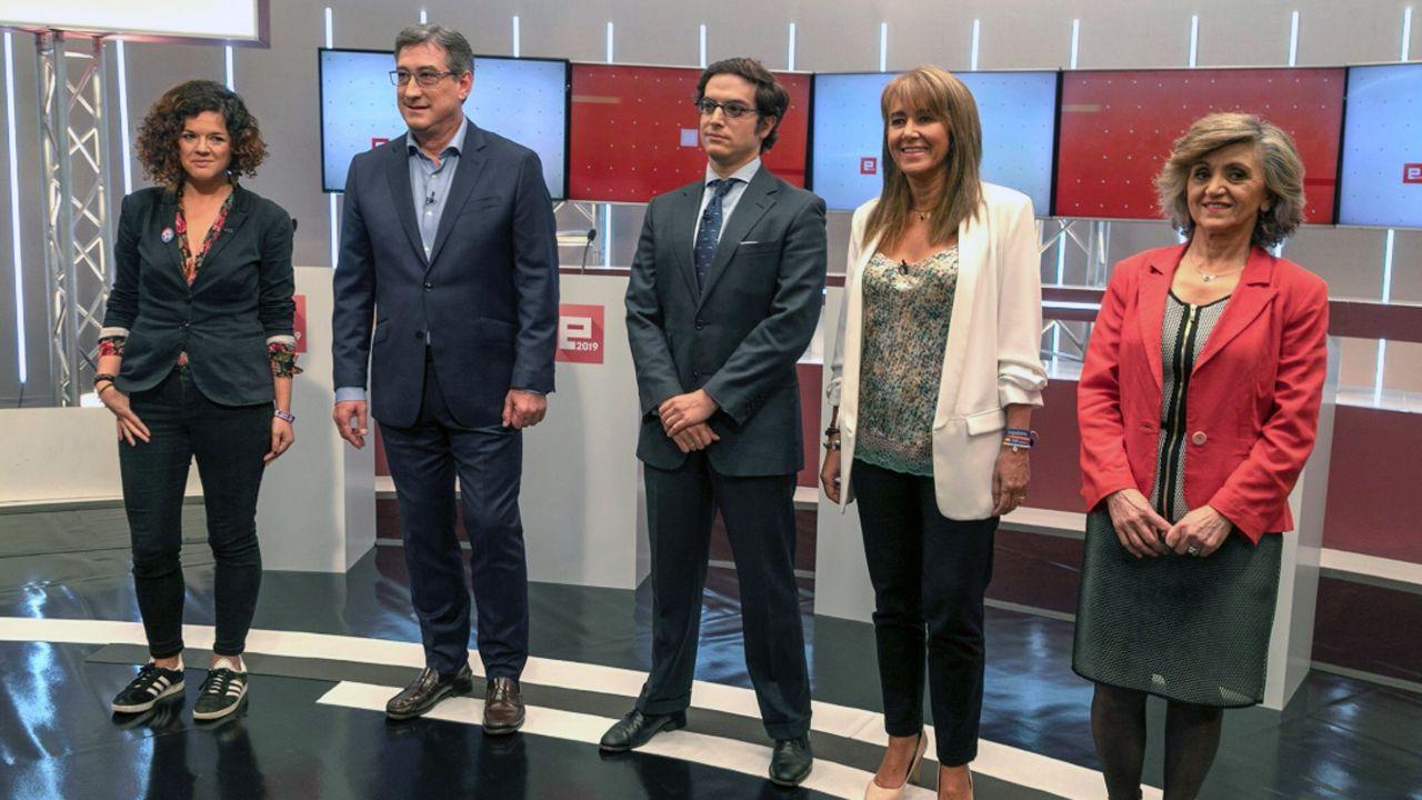 Los candidatos asturianos a las elecciones del 10N en el debate de la TPA