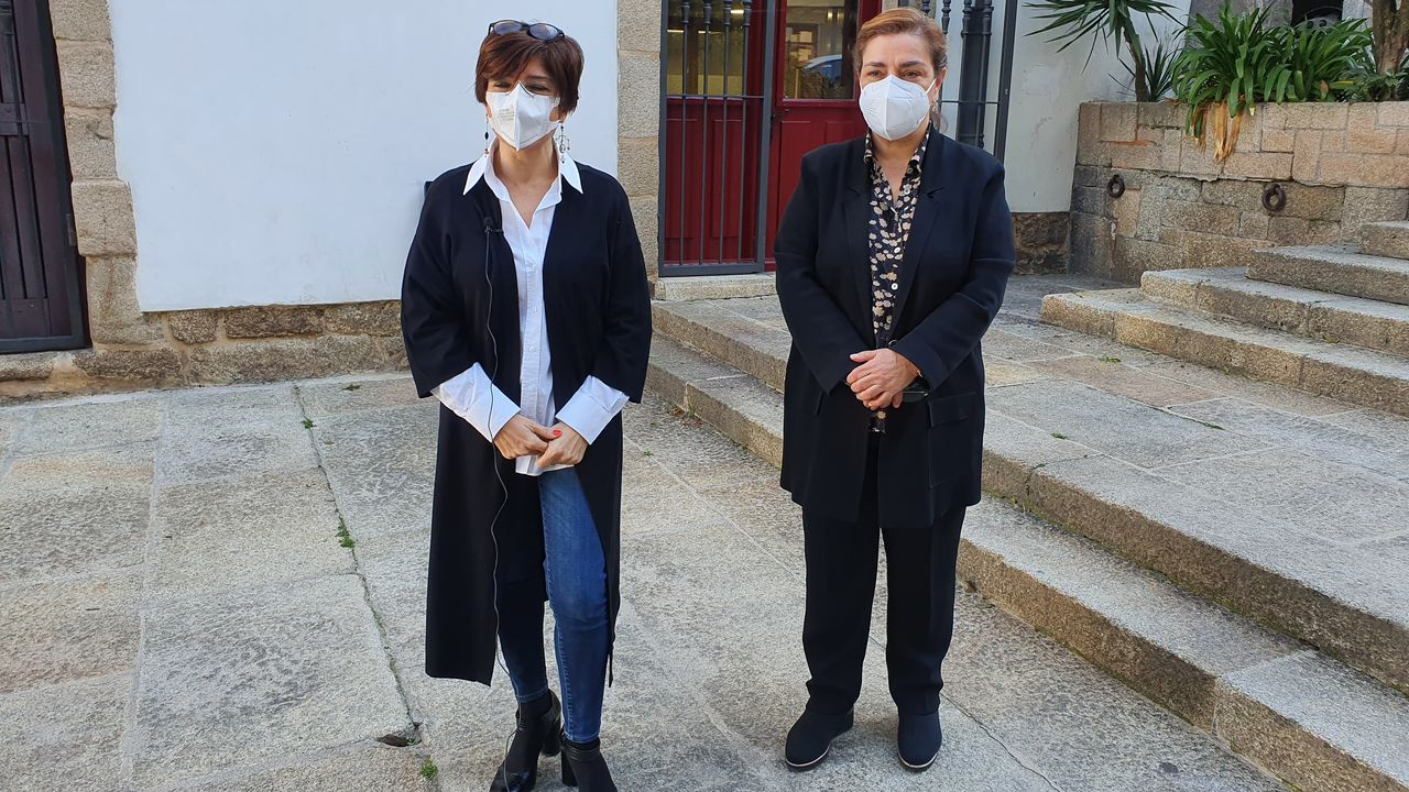 Eugenia Díaz Abella y Flora Moure (PP)