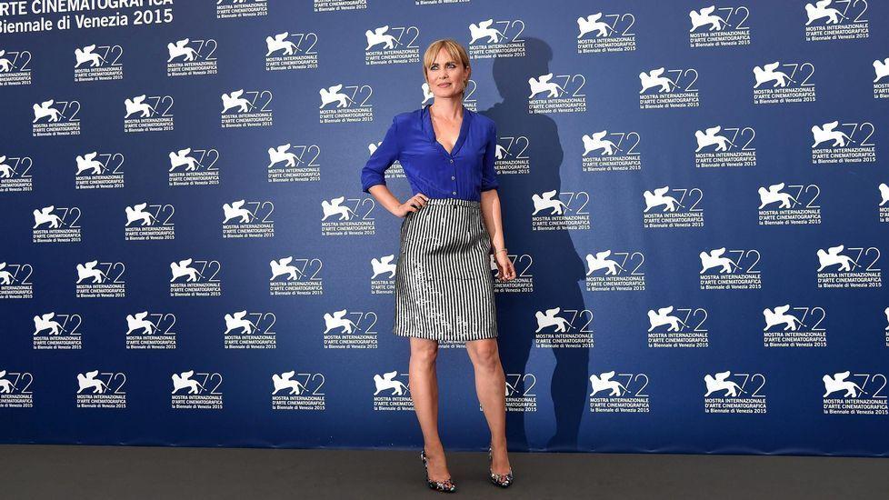 La actriz australiana Radha Mitchell