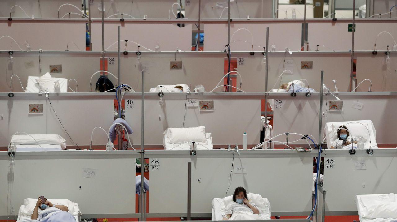 La pandemia en el mundo.Mark Rutte, durante una visita a un guardería en La Haya