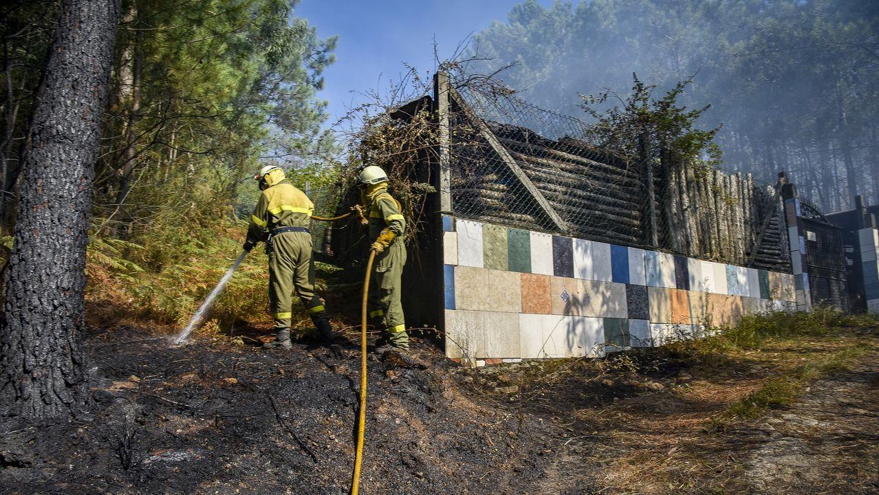 Incendio en A Pobra