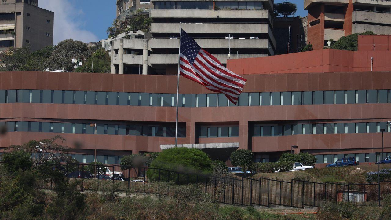 Edificio de la embajada de EE.UU. en Caracas (Venezuela)