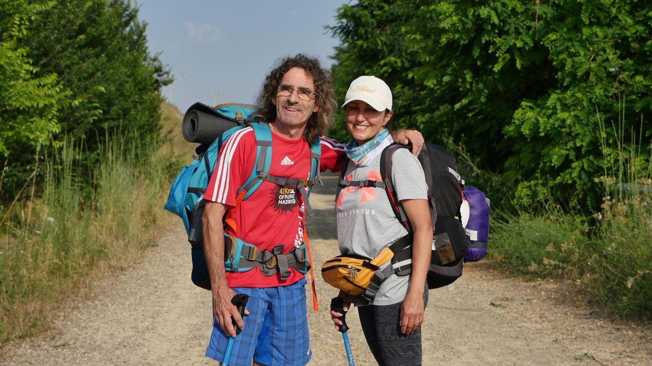 Josep Cufí, de Girona, e Inessa Zykova, de Rusia