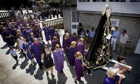restauracion.Cerdedo celebra sus fiestas patronales, que incluyen oficios religiosos mañana y el domingo.