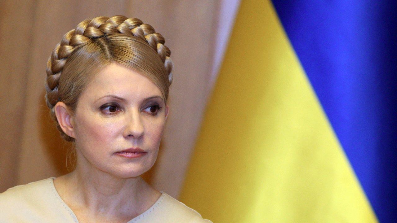 Yulia Timoshenko, en febrero del 2010 durante su etapa de primer ministra de Ucrania