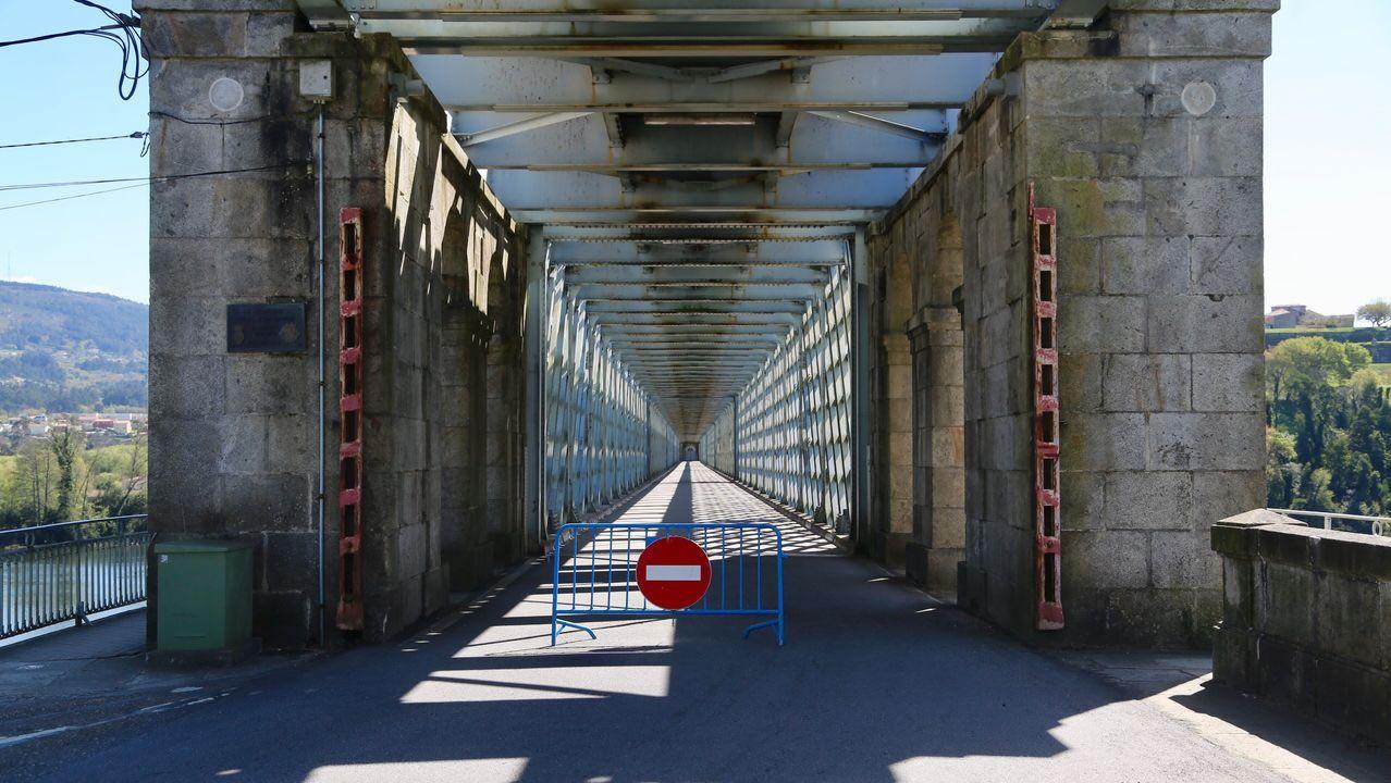 17 de marzo, día 3 de confinamiento. Tras el anuncio del Gobierno del cierre de las fronteras terrestres, el miedo al coronavirus activó la frontera entre Galicia y Portugal 25 años después. El vínculo diario entre las orillas gallegas y portuguesa del Miño se congeló.