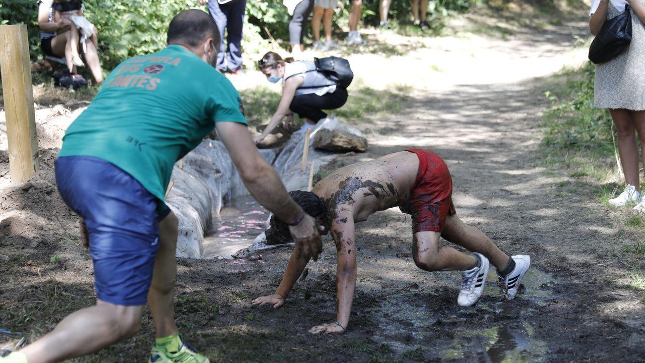 Jornada de diversión y deporte en el campamento Sporty, en Allariz