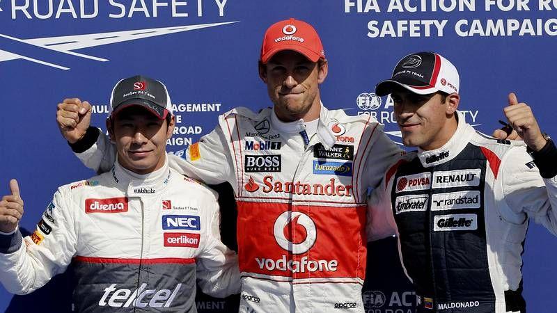 El espectacular accidente de Fernando Alonso en Spa, en imágenes.Los pilotos disfrutaron del espectáculo tanto como los aficionados agolpados en las cunetas.