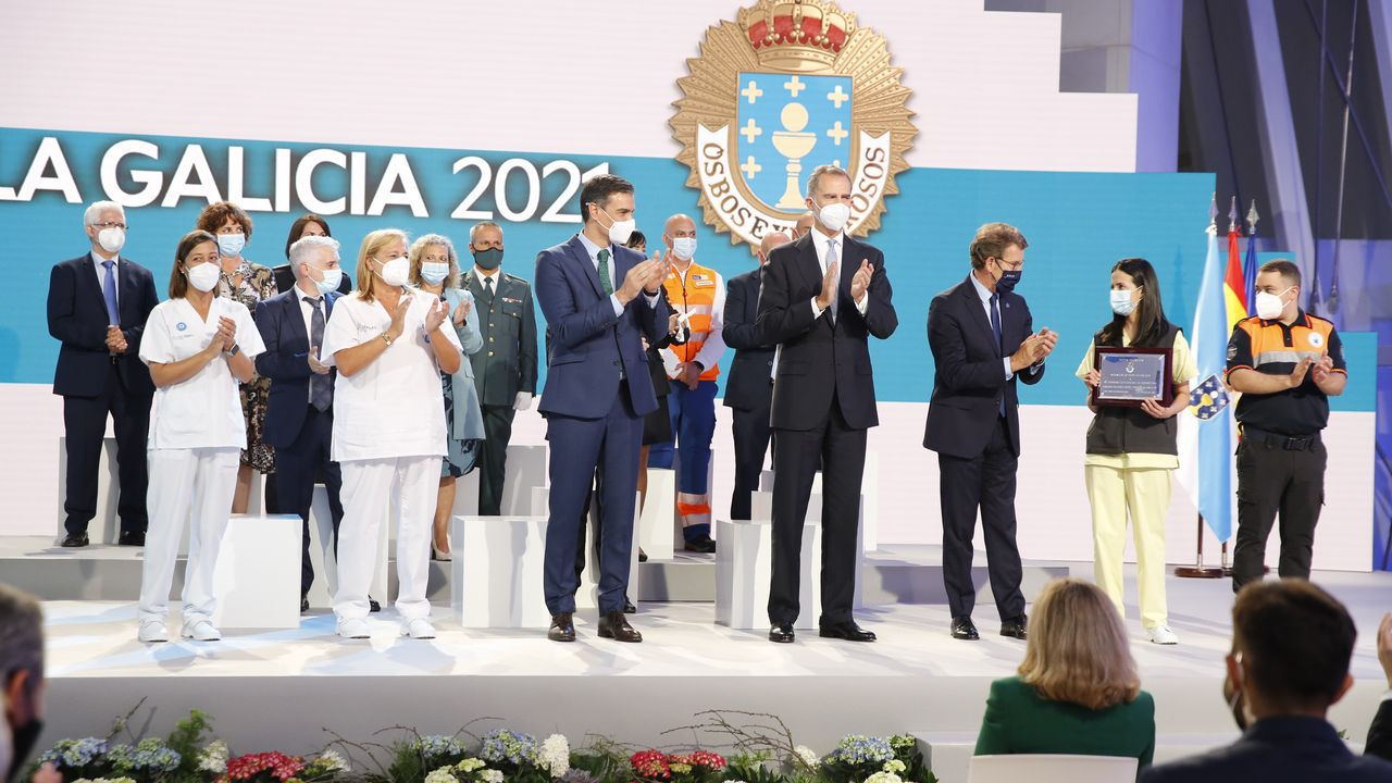 En directo: entrega de las Medallas de Galicia 2021