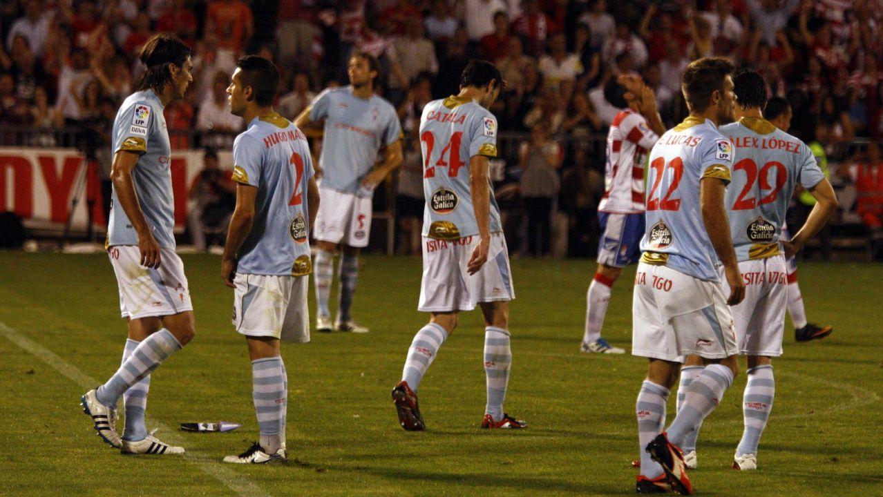 78 - Granada-Celta (1-0) del play off de ascenso el 11 de junio del 2011