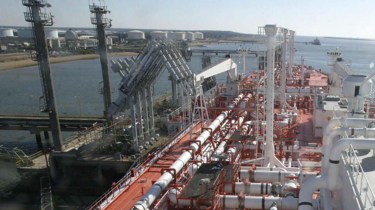 Primer cargamento de GNL en Huelva procedente de Egipto