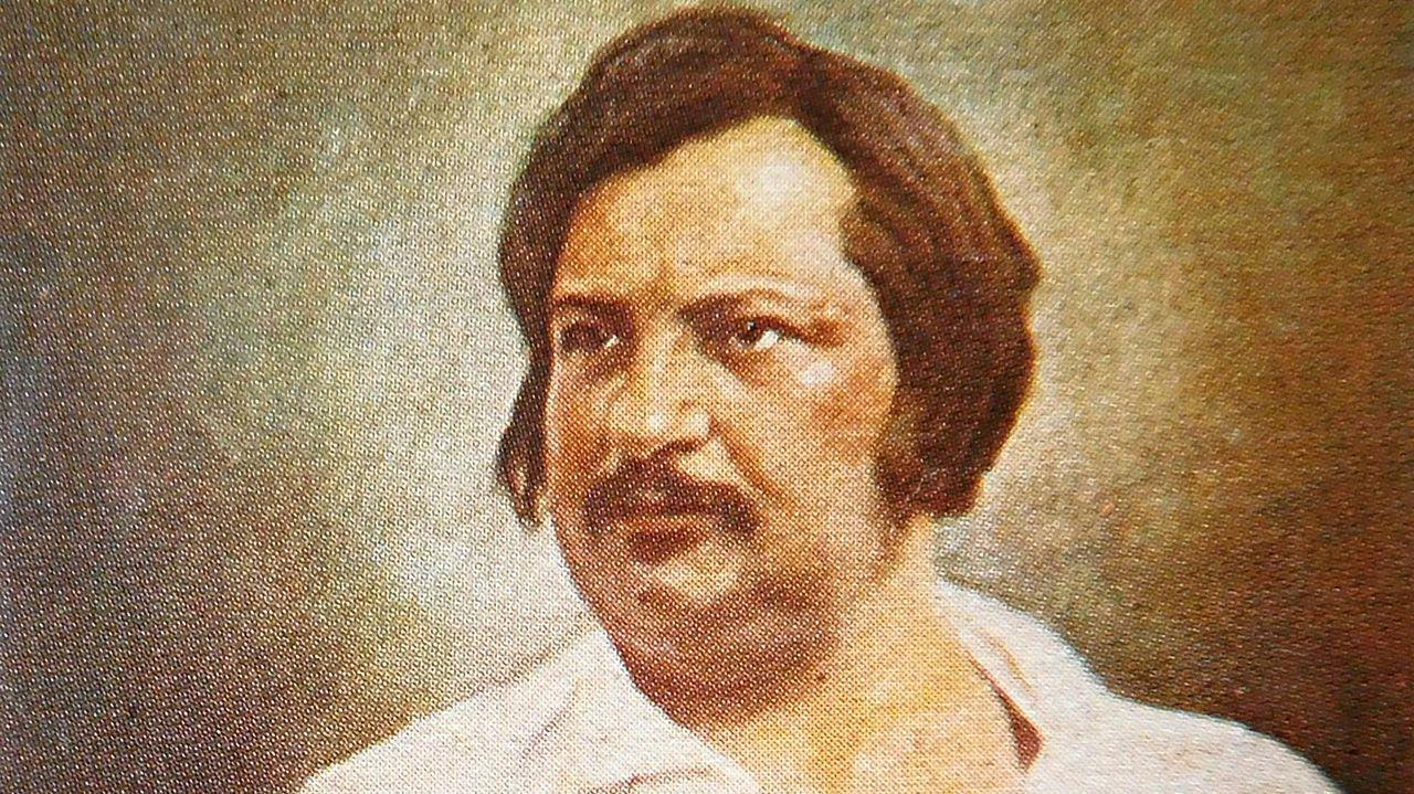 El novelista Honoré de Balzac