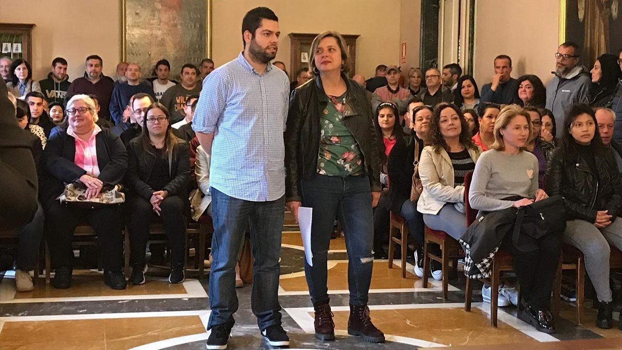Rubén Rosón y Ana Taboada