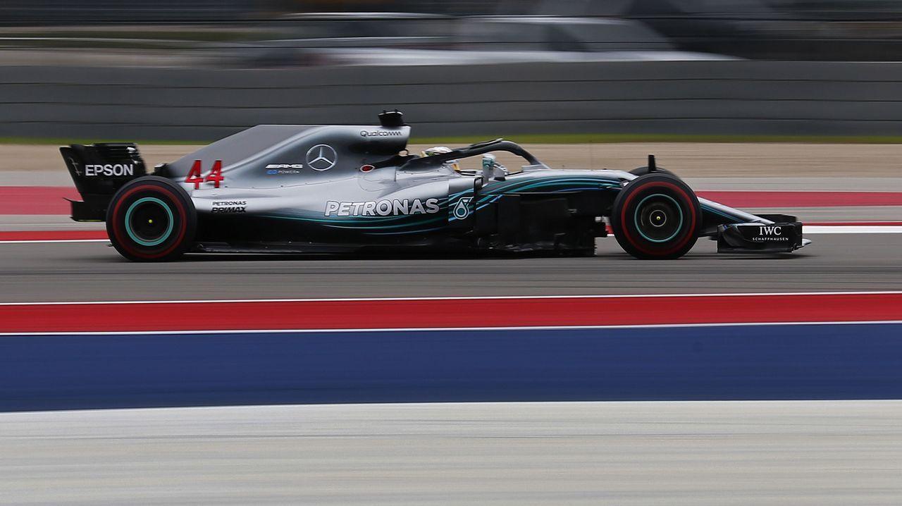 Fernando Alonso en el circuito de Austin, Texas
