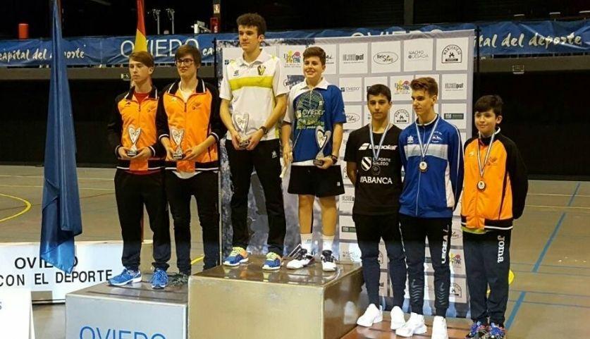 Sanluis y Murio lograron subirse al tercer escalón del podio en la prueba disputada en Oviedo.