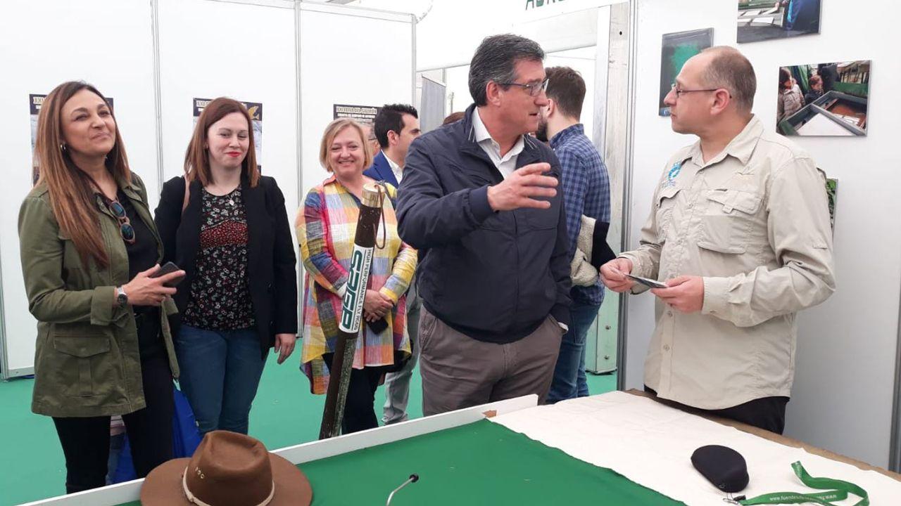 Ciudadanos oviedo.Ignacio Prendes en la inauguración de la XXI Feria del Salmón Asturpesca-Capenastur 2019