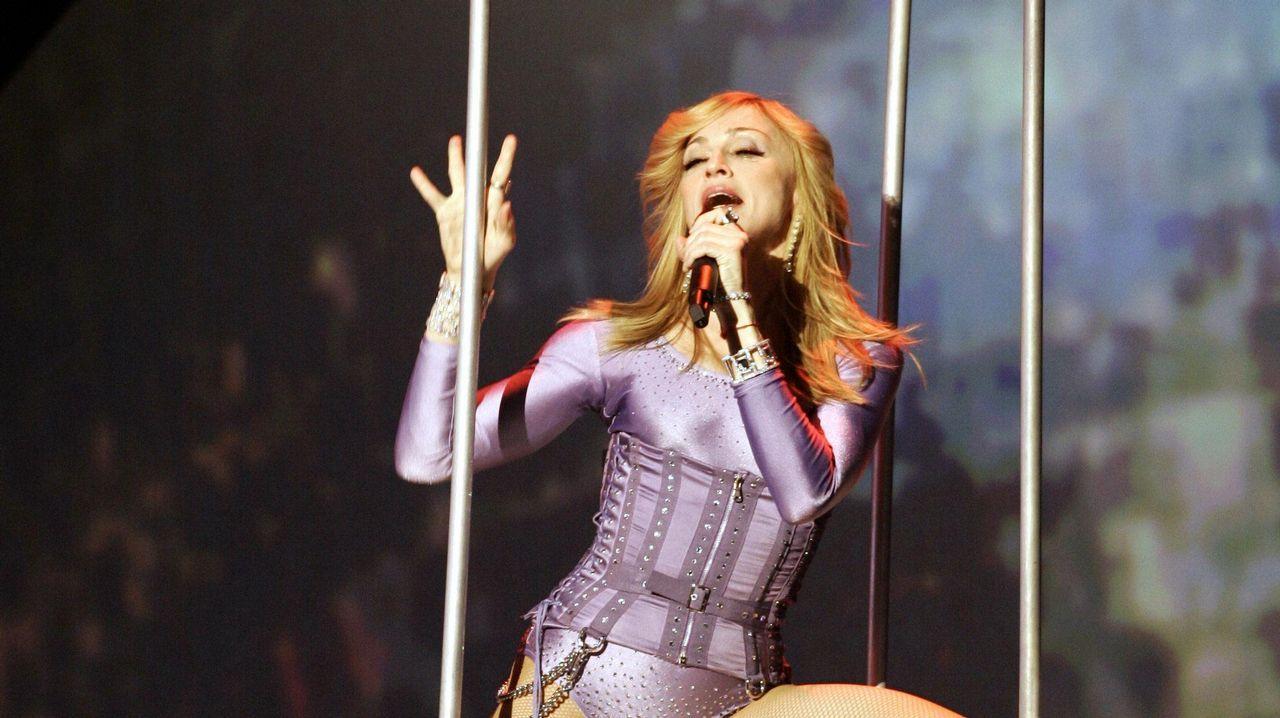 «La venda» representará a España en Eurovisión.LA CANTANTE MADONNA EN UNA ACTUACIÓN EN DIRECTO