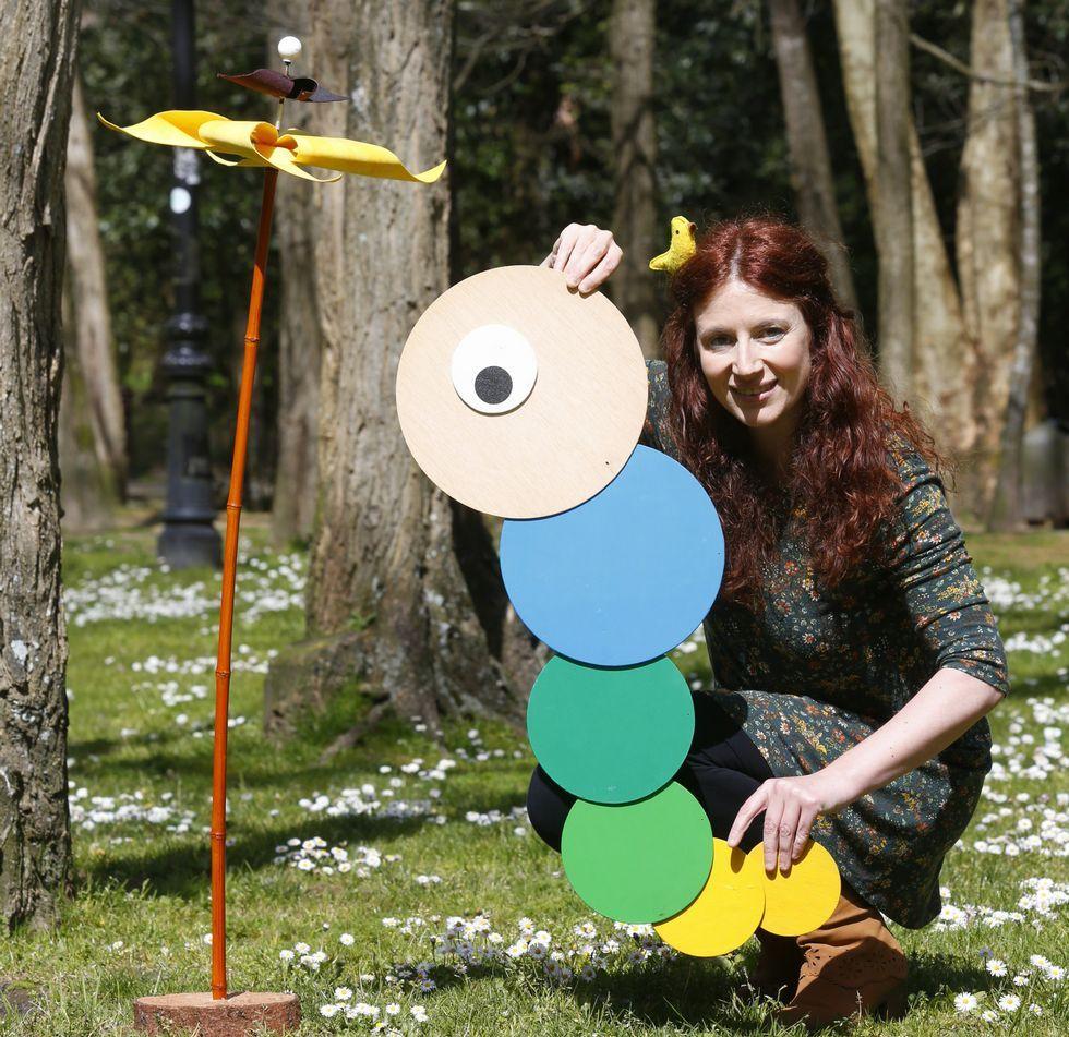 Raquel Queizás é ourensá e vive en Pontevedra