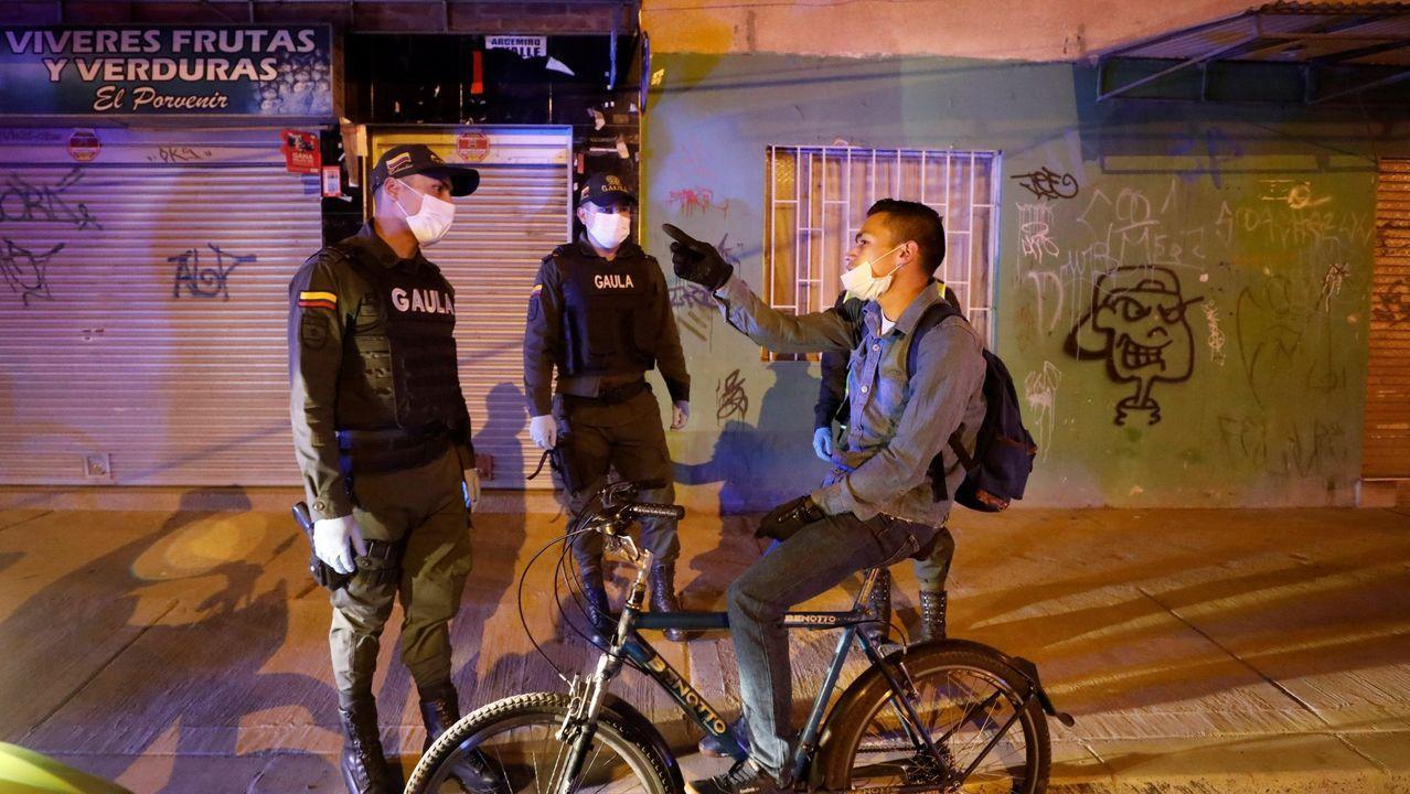 En Colombia los agentes realizan controles en todo el país