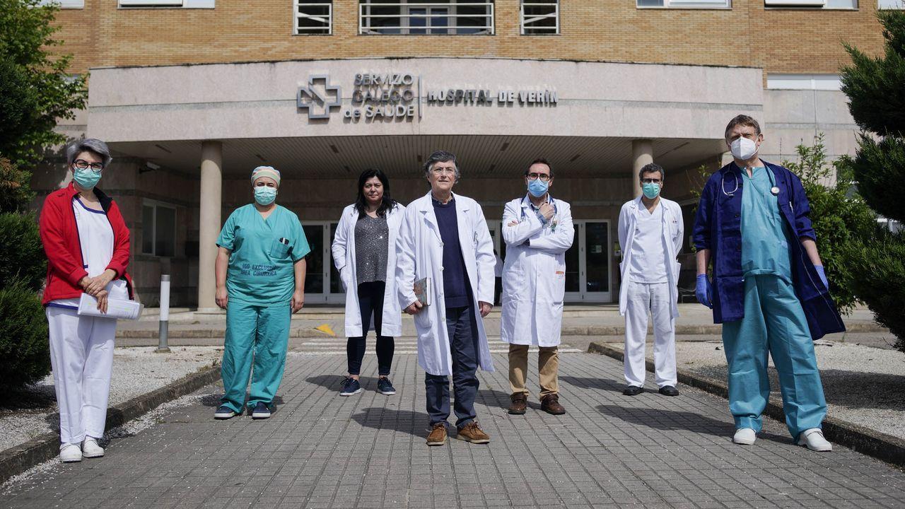 La mayoría de pacientes ingresados están en el CHUO