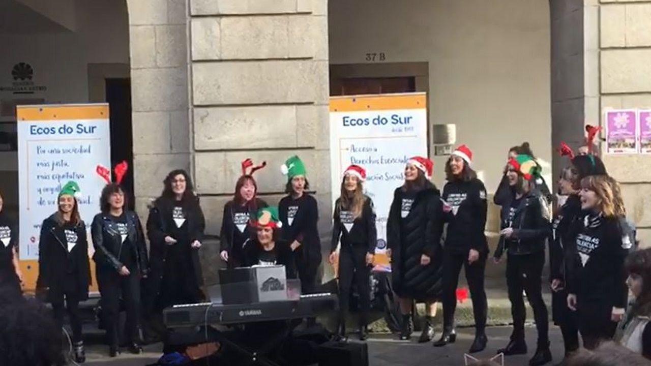 Sisters in the House cantan contra la violencia de género