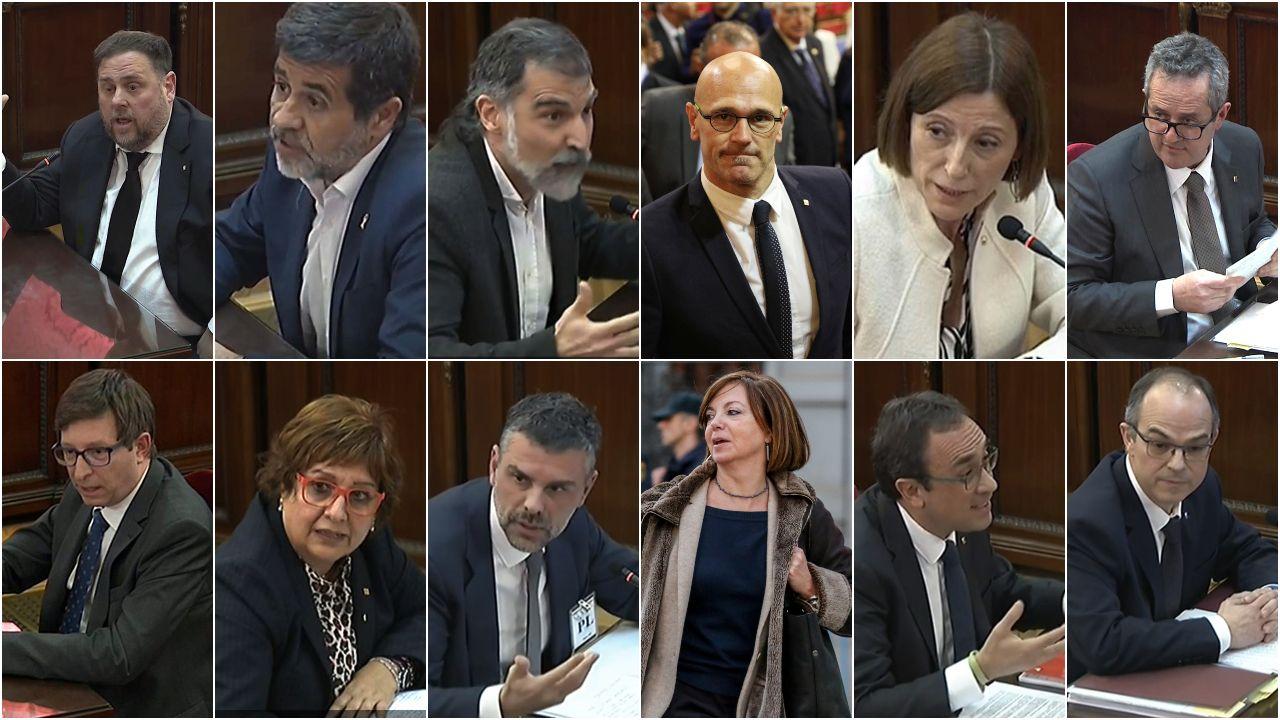 Las penas de la sentencia del procés.Josep Borrel e Irene Lozano explicaron la trascendencia del fallo del Supremo al cuerpo diplomático
