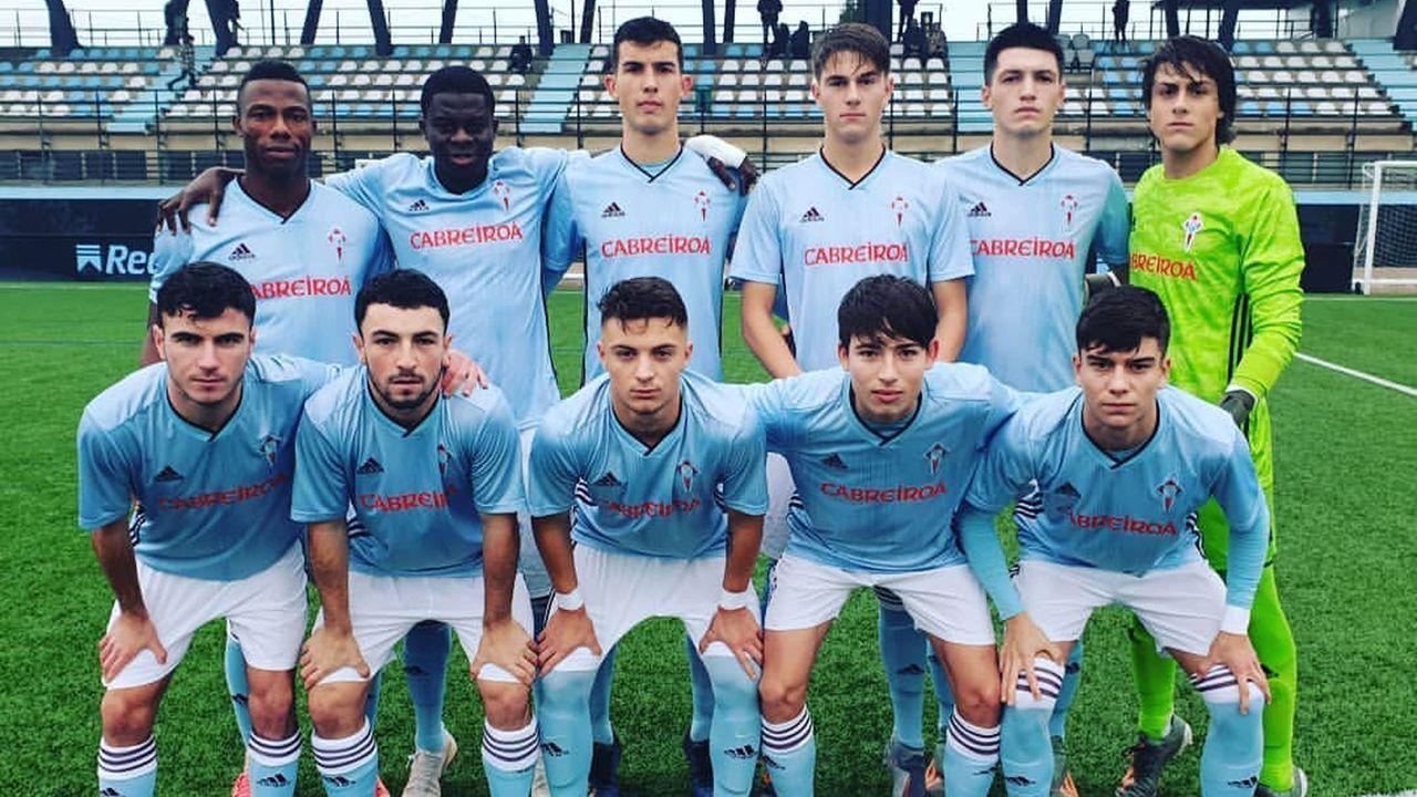 César Fernández disputó su primer partido en División de Honor Juvenil con 15 años