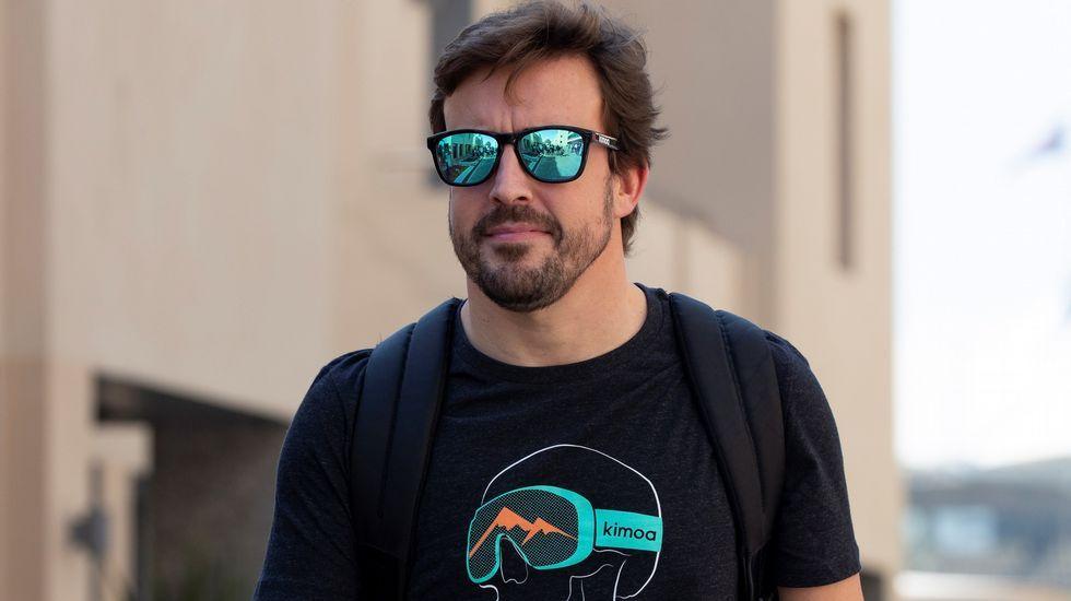 Alonso se despide por todo lo alto en Abu Dabi.Fernando Alonso