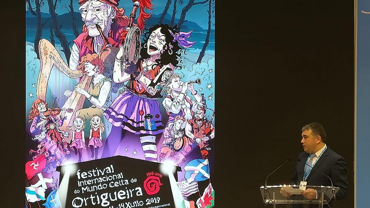 As oito nacións celtas, representadas no Festival de Ortigueira.Sari Alabau fue elegid presidenta de Asfedro hace ahora un año
