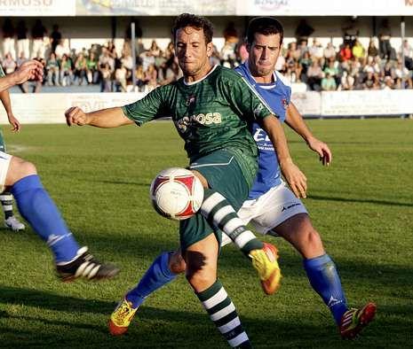 El Racing ganó en la primera vuelta por 0-2 en el campo de O Poboado.