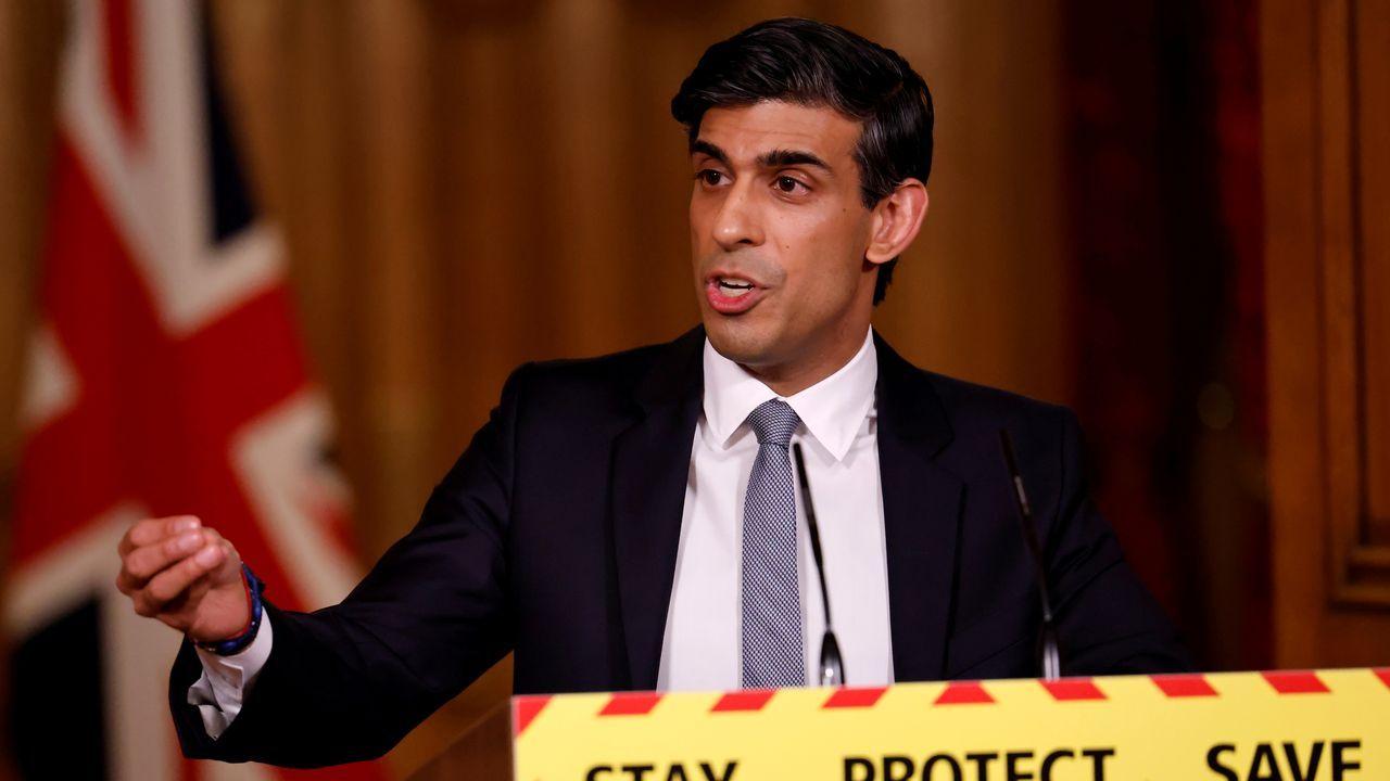 El ministro de Economía  británico, Rishi Sunak