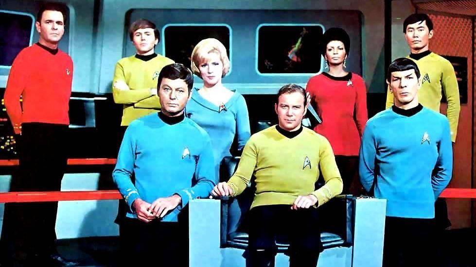 Los protagonistas de «Star Trek»