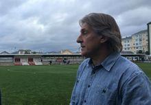 Sergio Egea tras el amistoso ante el Lugo en Foz