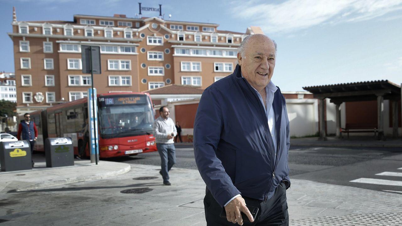 Pablo Iglesias, sobre las donaciones de Amancio Ortega: «La sanidad no puede depender de ningún millonario».El pasado mayo compraba el Dana Hotel y Spa de Chicago por 64,7 millones de euros