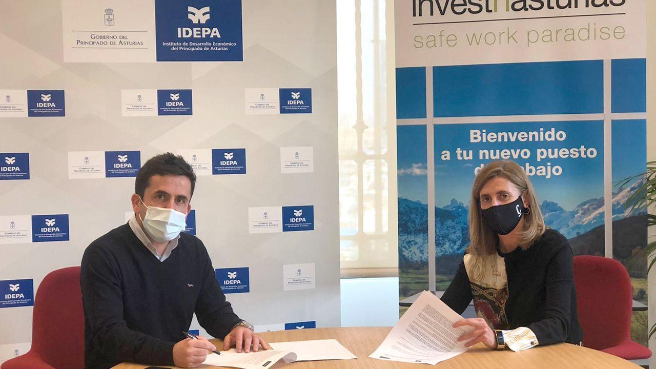 Firma del acuerdo entre Idepa y Spaces